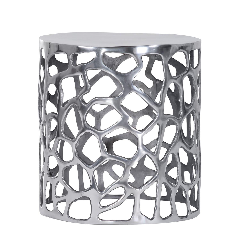 Tavolino Bayeux- Alluminio - Alluminio, ars manufacti
