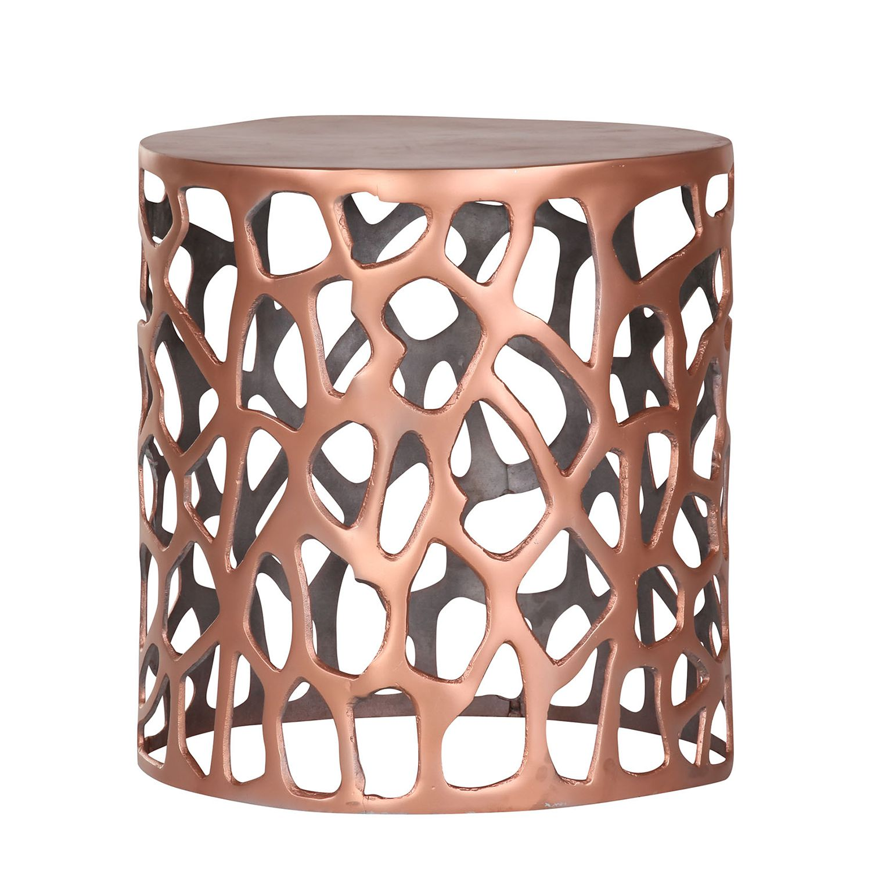 Tavolino Bayeux- Alluminio - Rame, ars manufacti