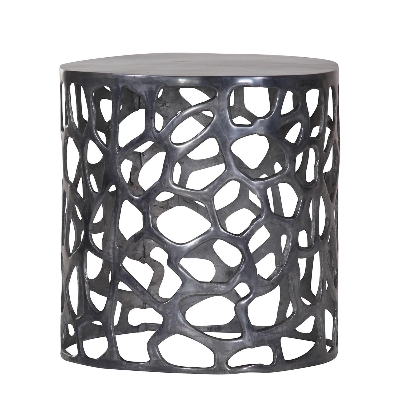 Tavolino Bayeux- Alluminio - Color antracite, ars manufacti