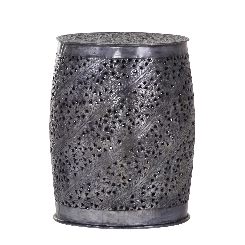 Tavolino Beauvoir - Alluminio - Color antracite, ars manufacti