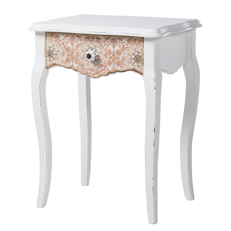 tavolino Charminster I - Parzialmente in legno massello di paulonia, Maison Belfort