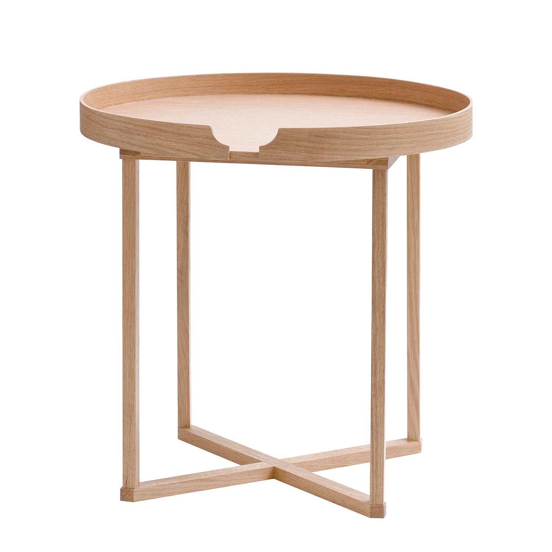 Tavolino Damien I - Legno massello di quercia - Quercia, Wireworks
