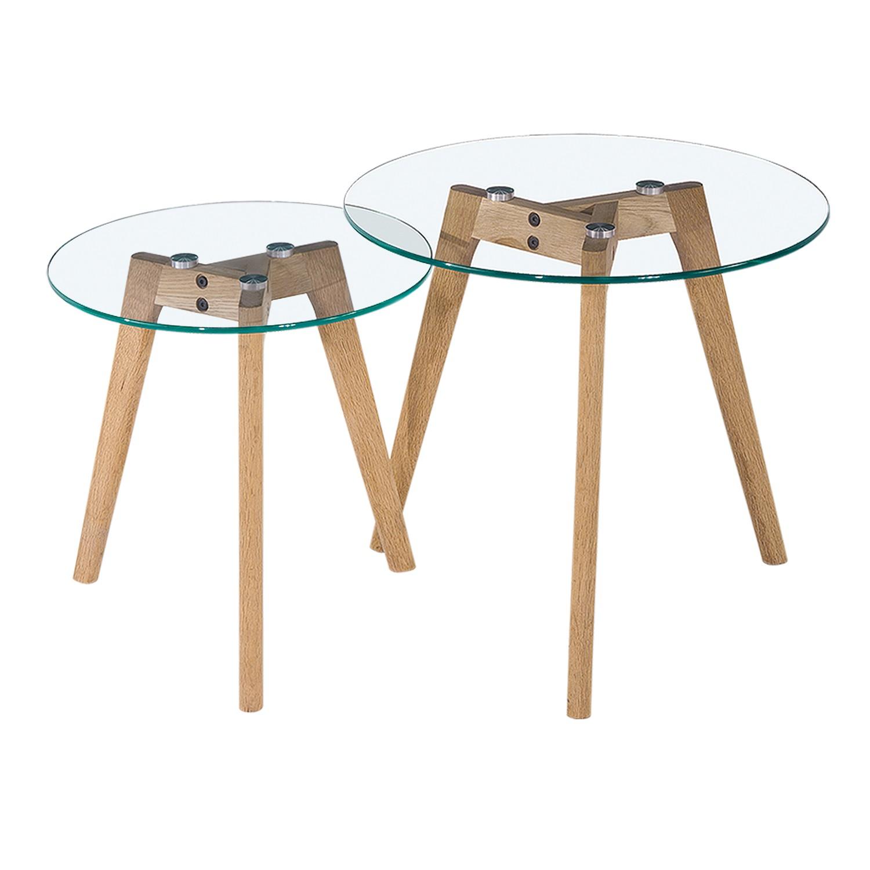 glas beistelltisch preisvergleich die besten angebote online kaufen. Black Bedroom Furniture Sets. Home Design Ideas