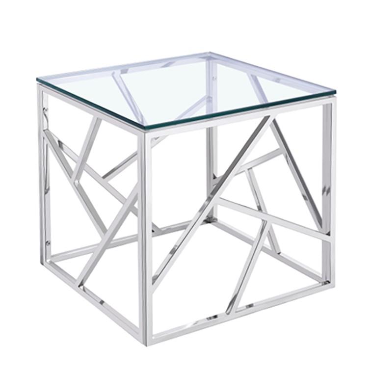 Glas beistelltisch preisvergleich die besten angebote for Beistelltisch glas gold