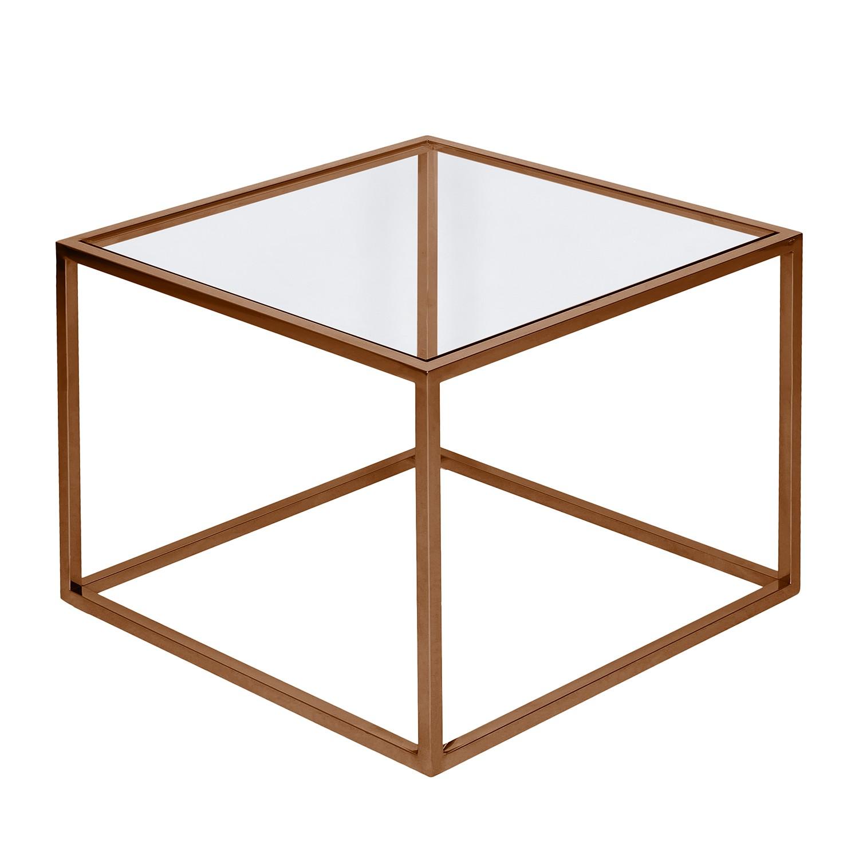 Table d'appoint Jacob - Verre / Acier inoxydable - Cuivre, Studio Copenhagen