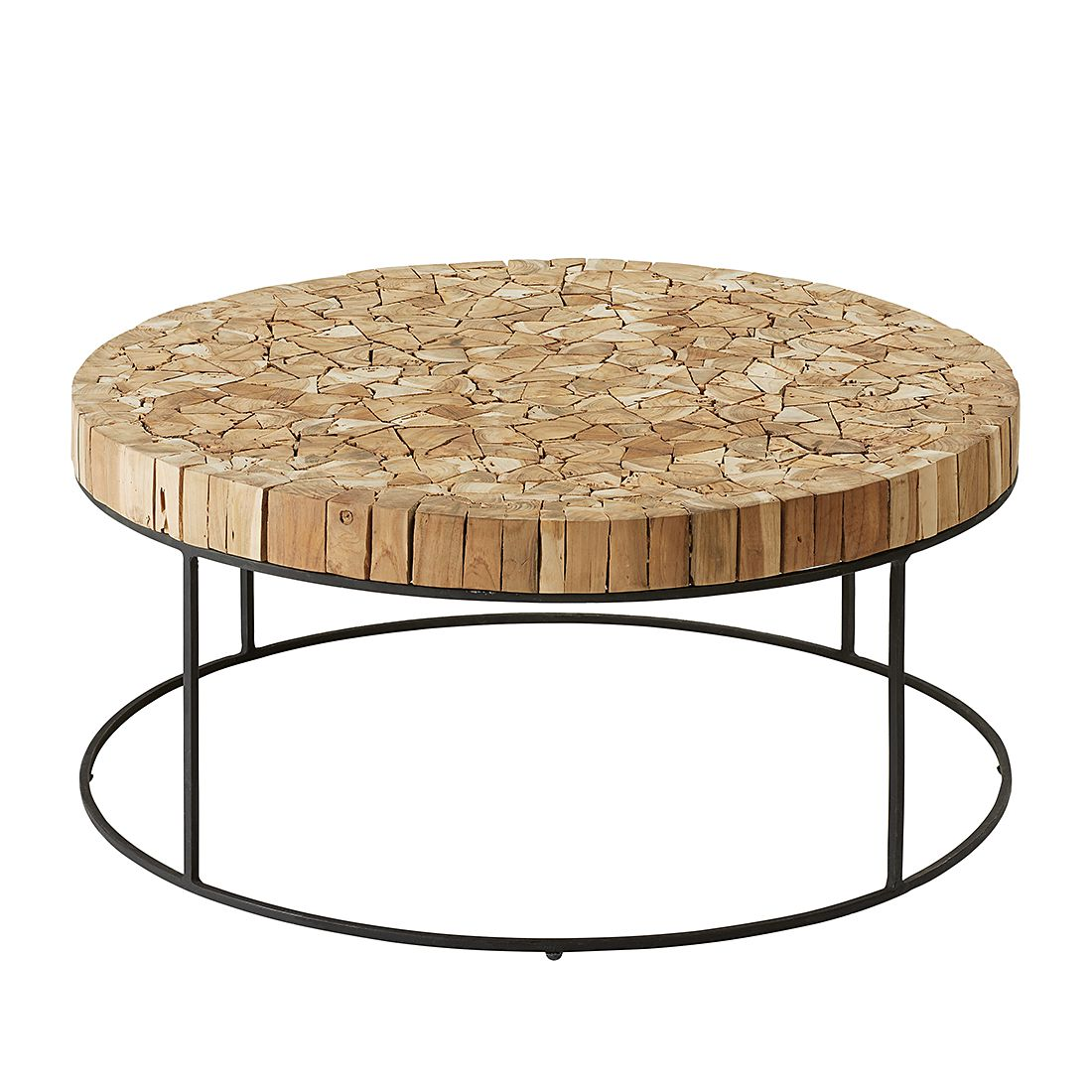Table d'appoint Madron - Teck massif, ars manufacti