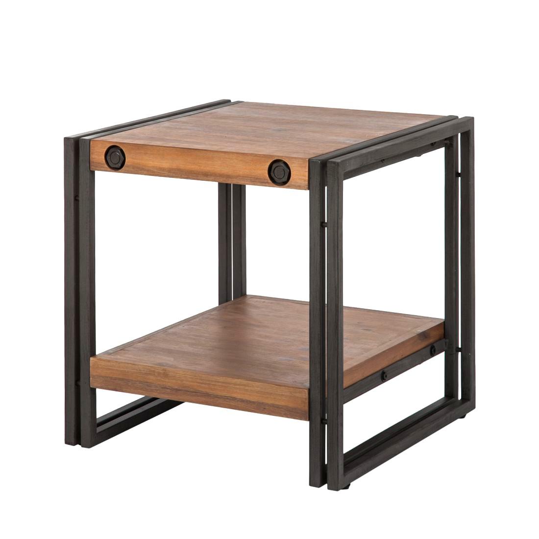 Tavolino Manchester - Legno massello di acacia/ Metallo, ars manufacti