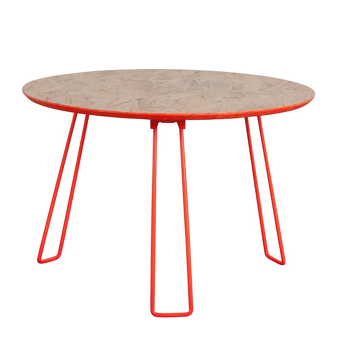Tavolino Osb L - Arancione fluo, Zuiver