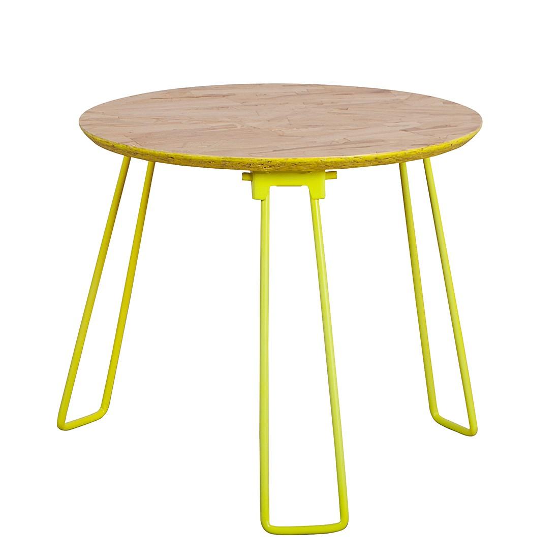 Tavolino Osb M - Giallo fluo, Zuiver