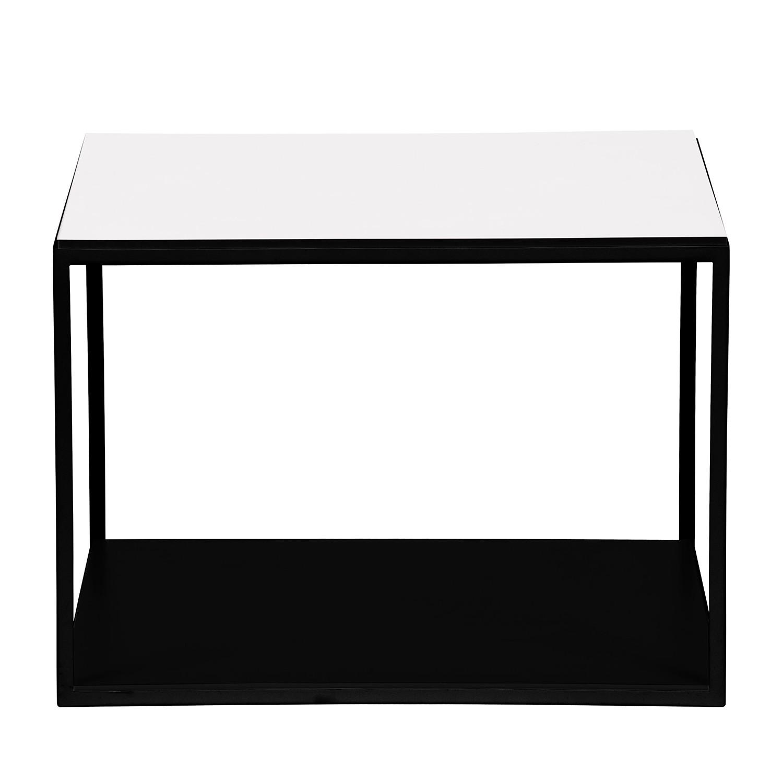 Table d'appoint Piet II - Blanc / Noir, Studio Copenhagen