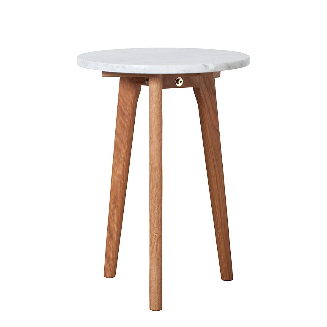 Tavolino Stone S - Bianco, Zuiver