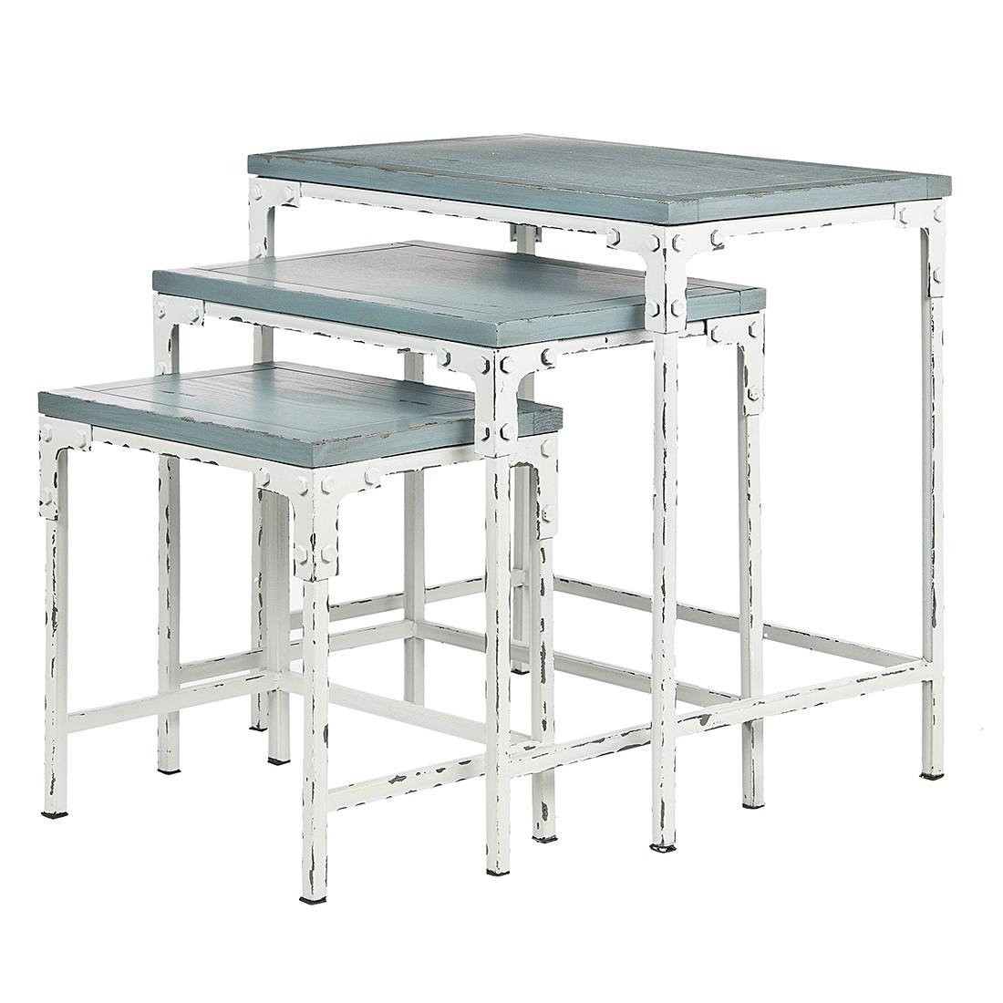Tavolino Timmy (set da 3) - Legno massello di pino, Safavieh