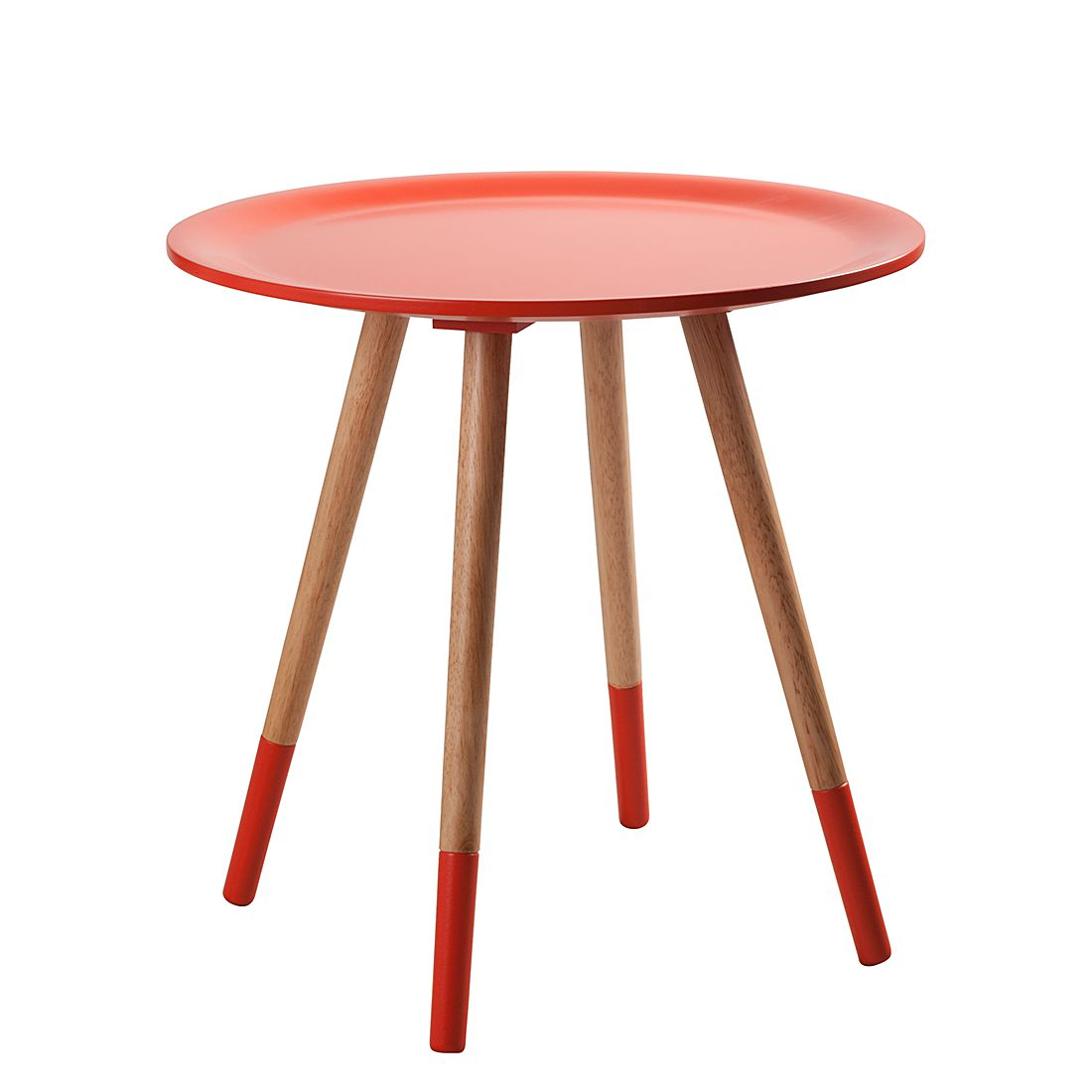 Table d'appoint Two Tone - Orange, Zuiver