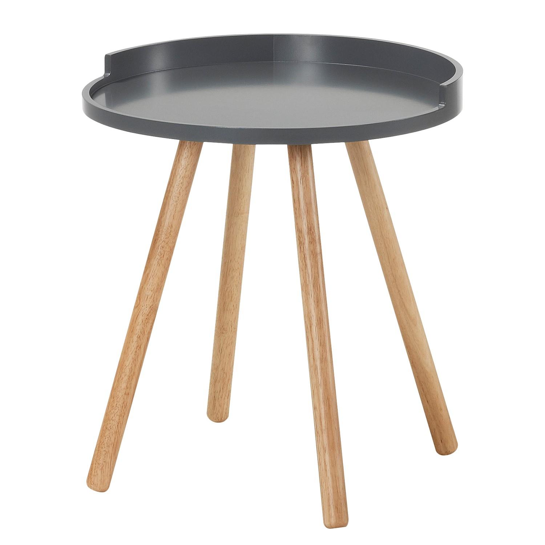 Tavolino Valbo - Grigio scuro, Morteens