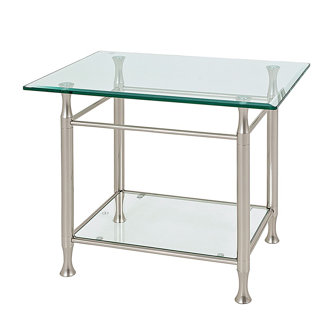 Tavolino Vienne - Vetro con bordo smussato, Home Design
