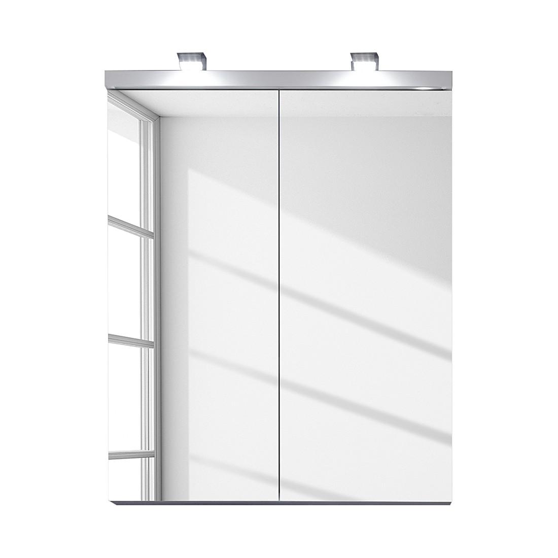 EEK A+, Luminaires pour armoire avec miroir (lot de 2), Trendteam