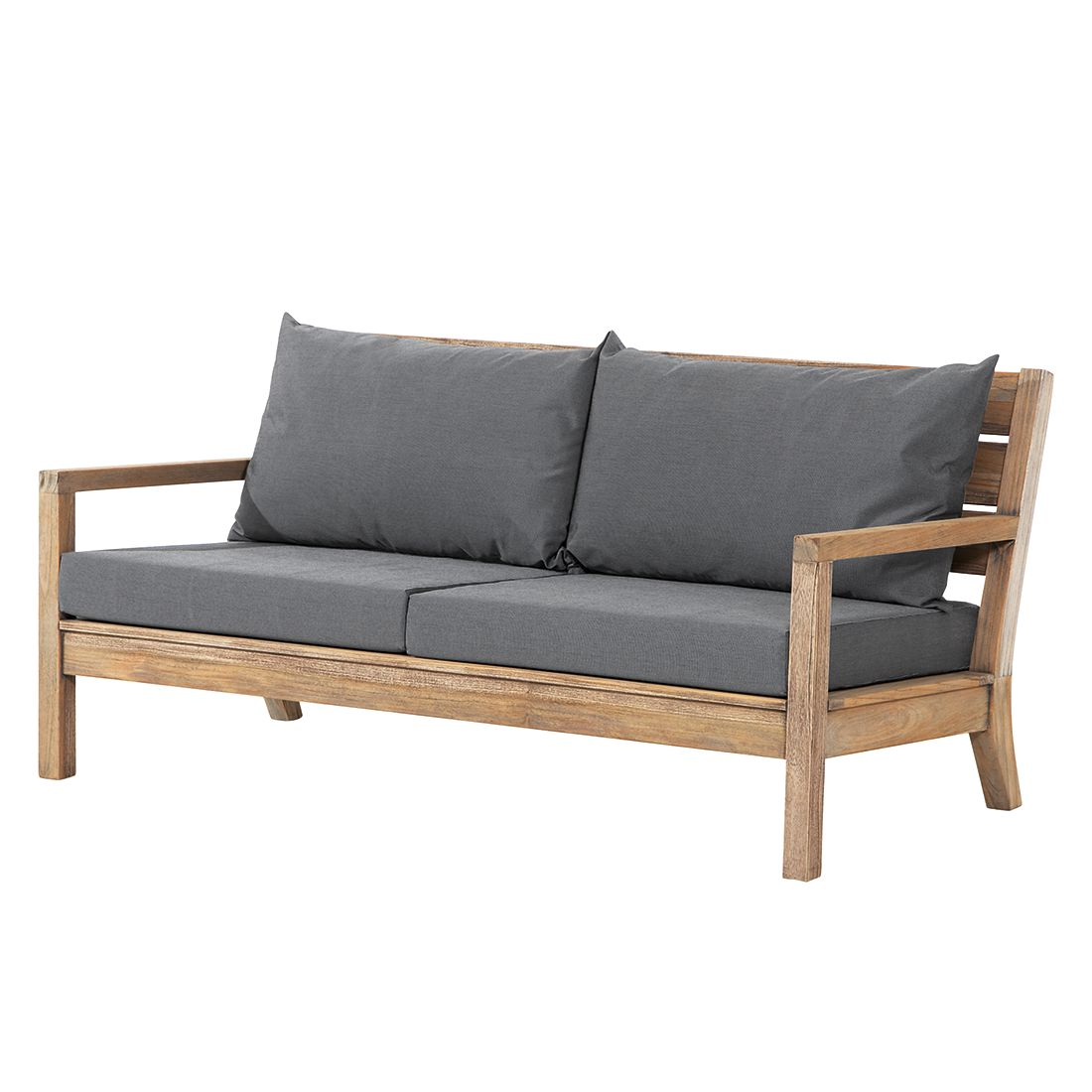 gartensofa moretti iv teakholz massiv grau best freizeitm bel g nstig kaufen. Black Bedroom Furniture Sets. Home Design Ideas