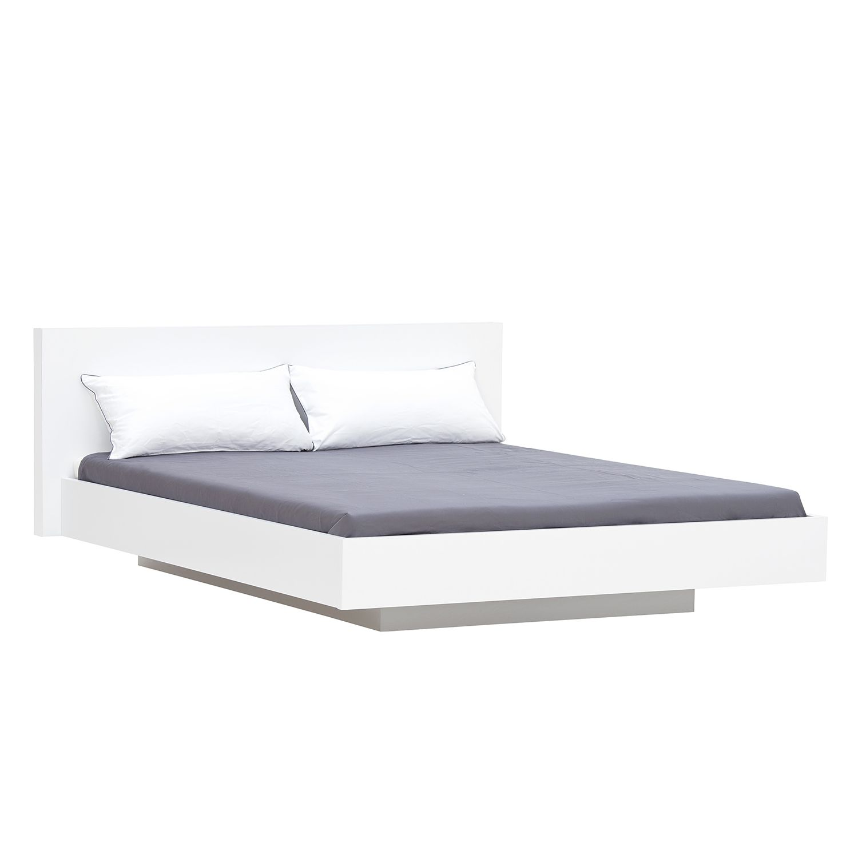 Lit Elodea - Blanc - 160 x 200cm - Blanc, loftscape