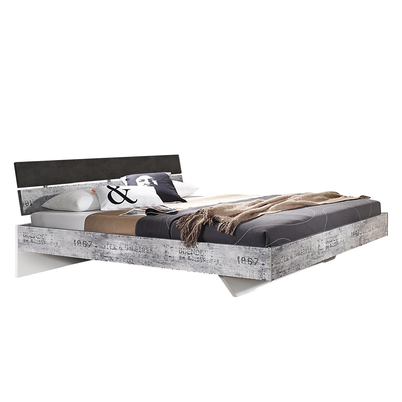 Lit Sumatra - 120 x 200cm - Marron / Blanc, Rauch Select