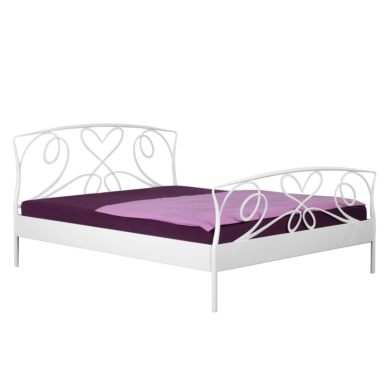 Bed Toscana - antiek wit - 180cmx200cm, Neue Modular