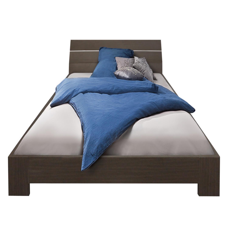 Bed Venus - 140 x 200cm - Wengéhouten look, mooved