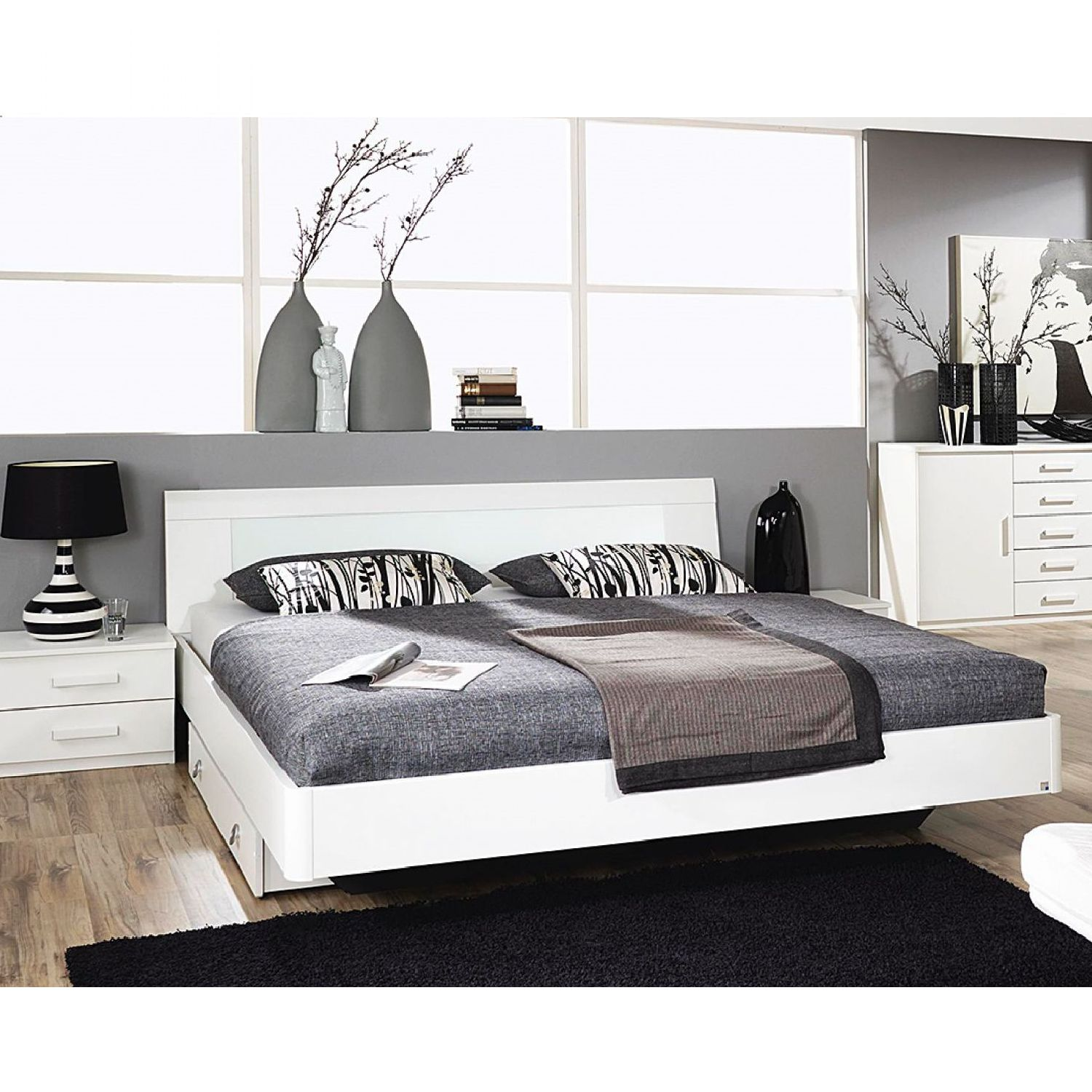 home24 complete slaapkamer kopen online internetwinkel. Black Bedroom Furniture Sets. Home Design Ideas