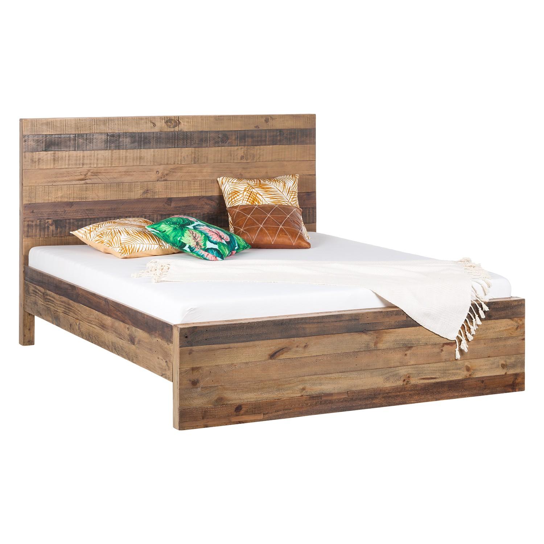 lit en bois massif tamati pin massif 180 x 200cm ars. Black Bedroom Furniture Sets. Home Design Ideas