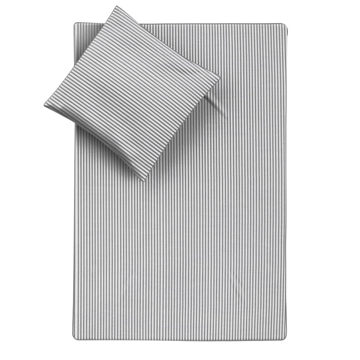 Bettw 228 Sche Smood Stripes Wei 223 Grau 155 X 200 Cm