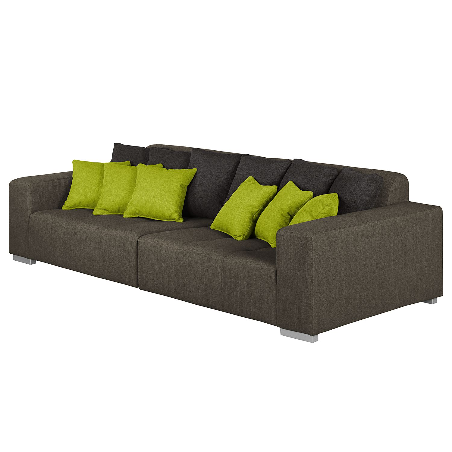 marque anonyme canape assise xxl microfibre comparer les prix et promo. Black Bedroom Furniture Sets. Home Design Ideas