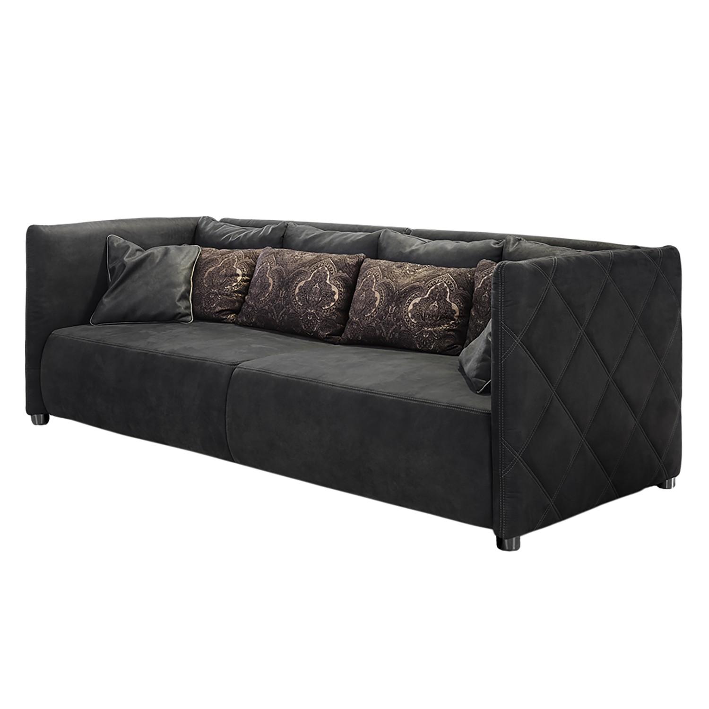 Grand canapé Girsby - Microfibre - Basalte, Home Design