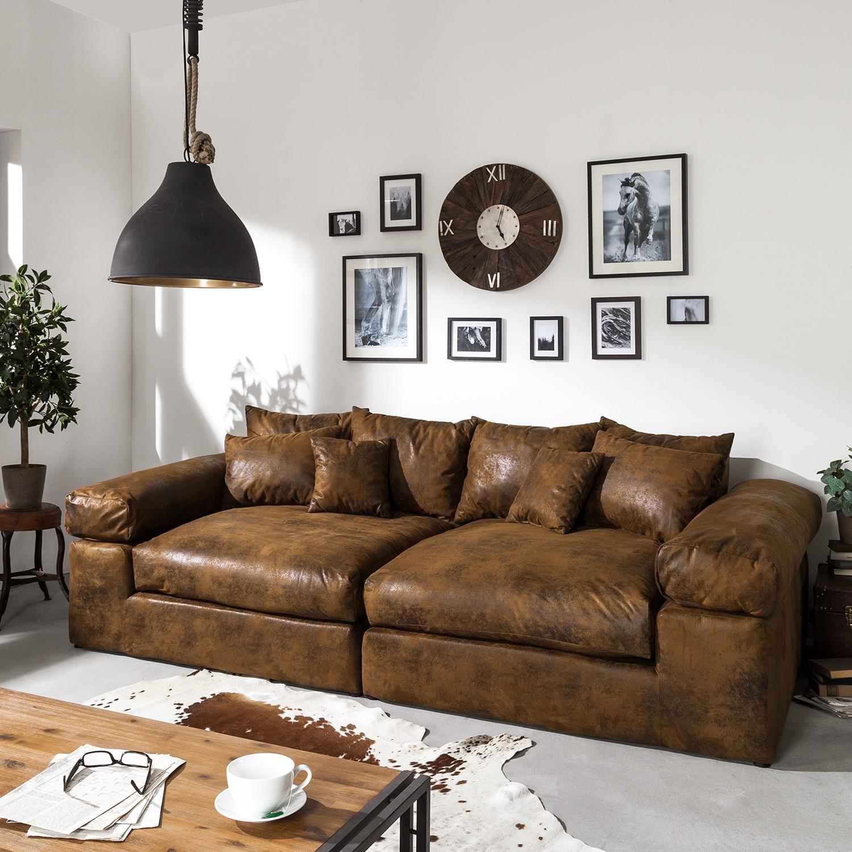 Big Sofa Antiklederoptik Www Elderbranch Com