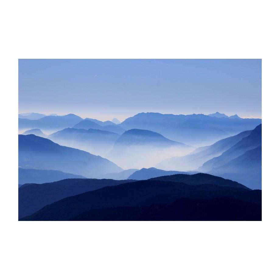 Afbeelding Corno Nero - canvas - blauw - 45, Ars Natura