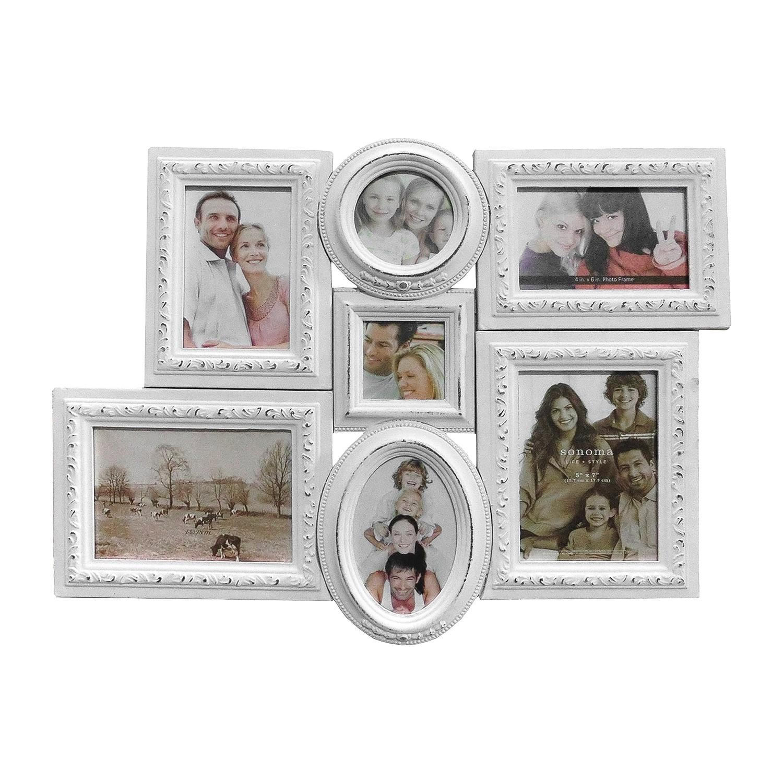 Home 24 - Cadre photo family ii - blanc, maison belfort
