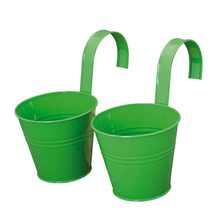 Blumentopf (2er-Set) - grün, Siena Garden