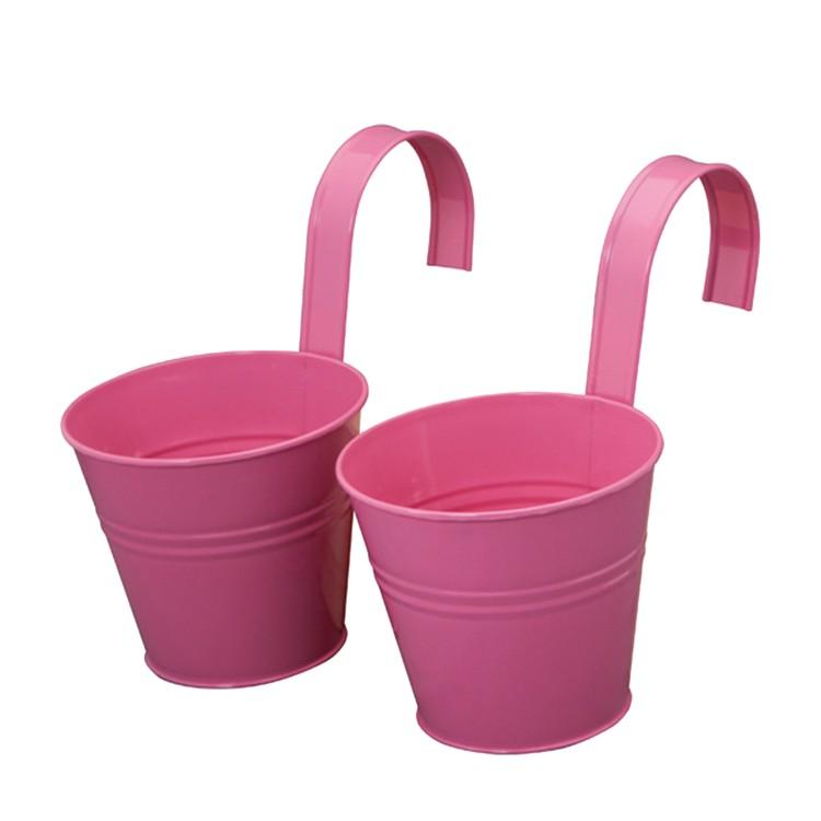 Blumentopf (2er-Set) - pink, Siena Garden