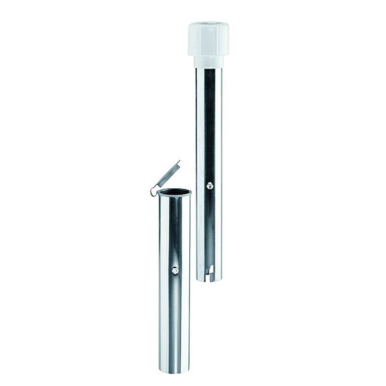 Bodenhülse (Ø 40-50 mm) - Aluminium Silber, Schneider Schirme