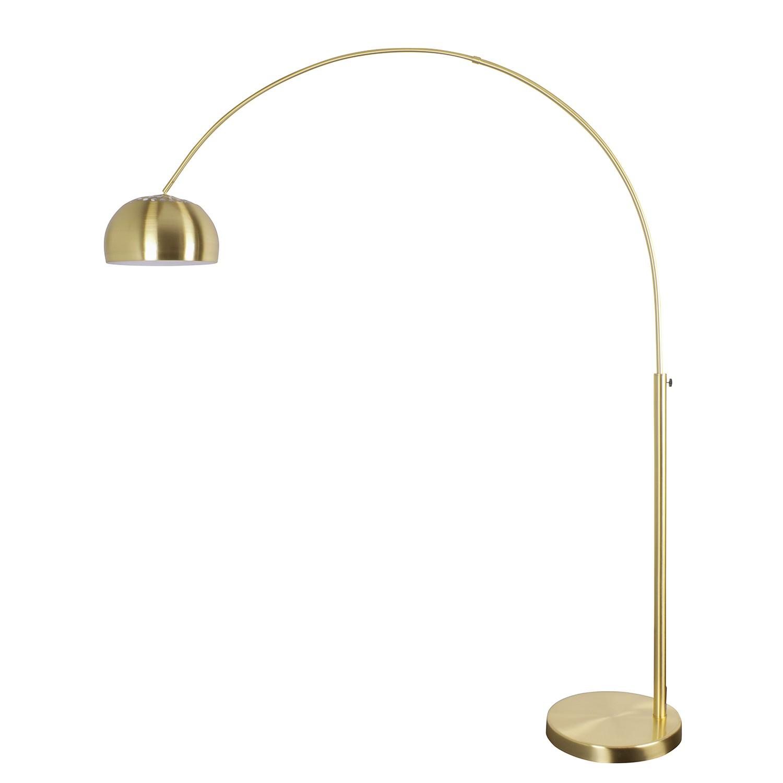 EEK A++, Lampadaire arc Gold Rush - Métal - 1 ampoule, Zuiver
