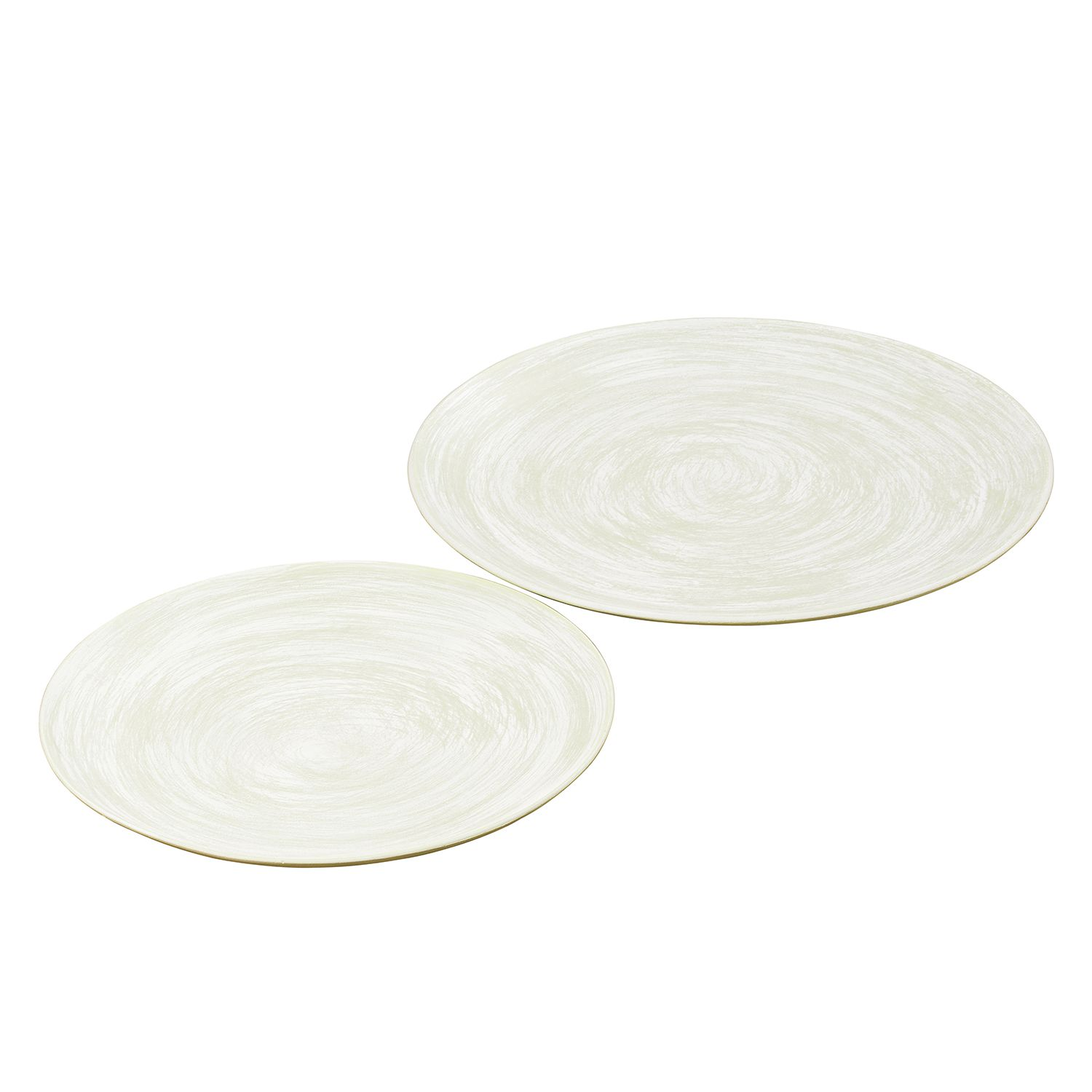 Home 24 - Assiette roanne (lot de 2) - vert, capeside westcoast