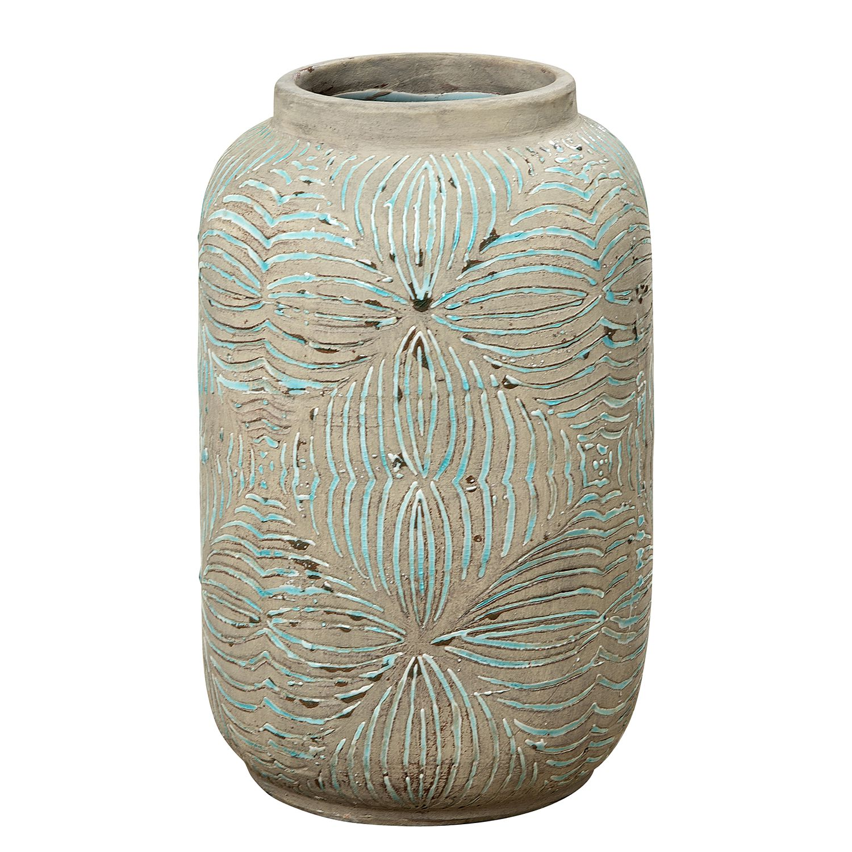 Home 24 - Vase maiossa - terracotta - gris, ars natura