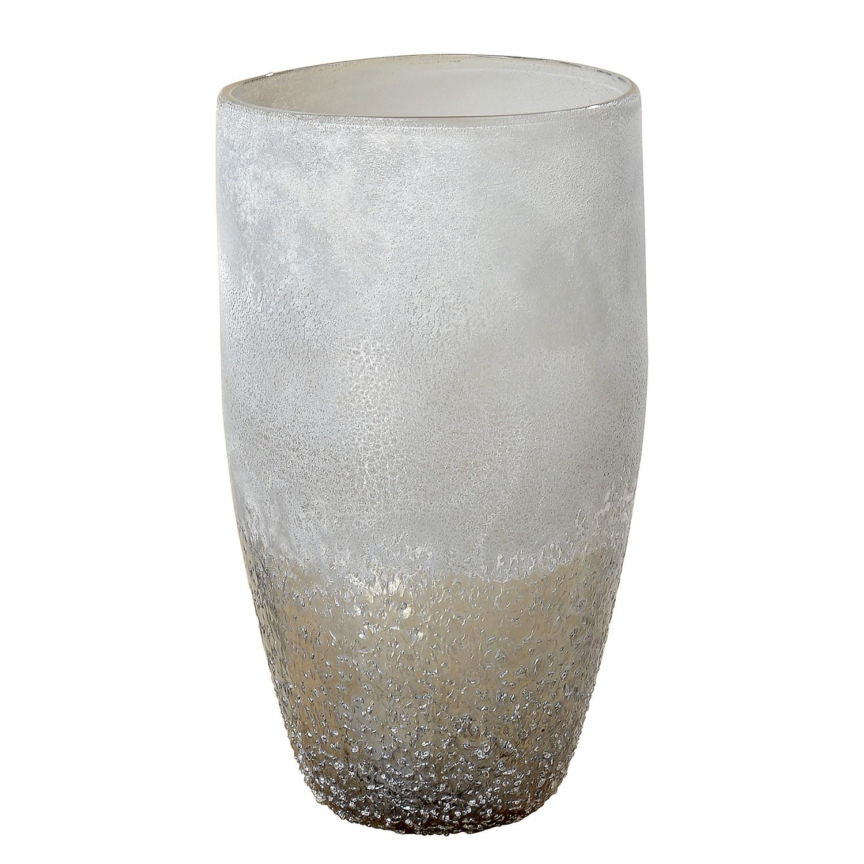 Home 24 - Vase lenzen - verre - gris, ars manufacti