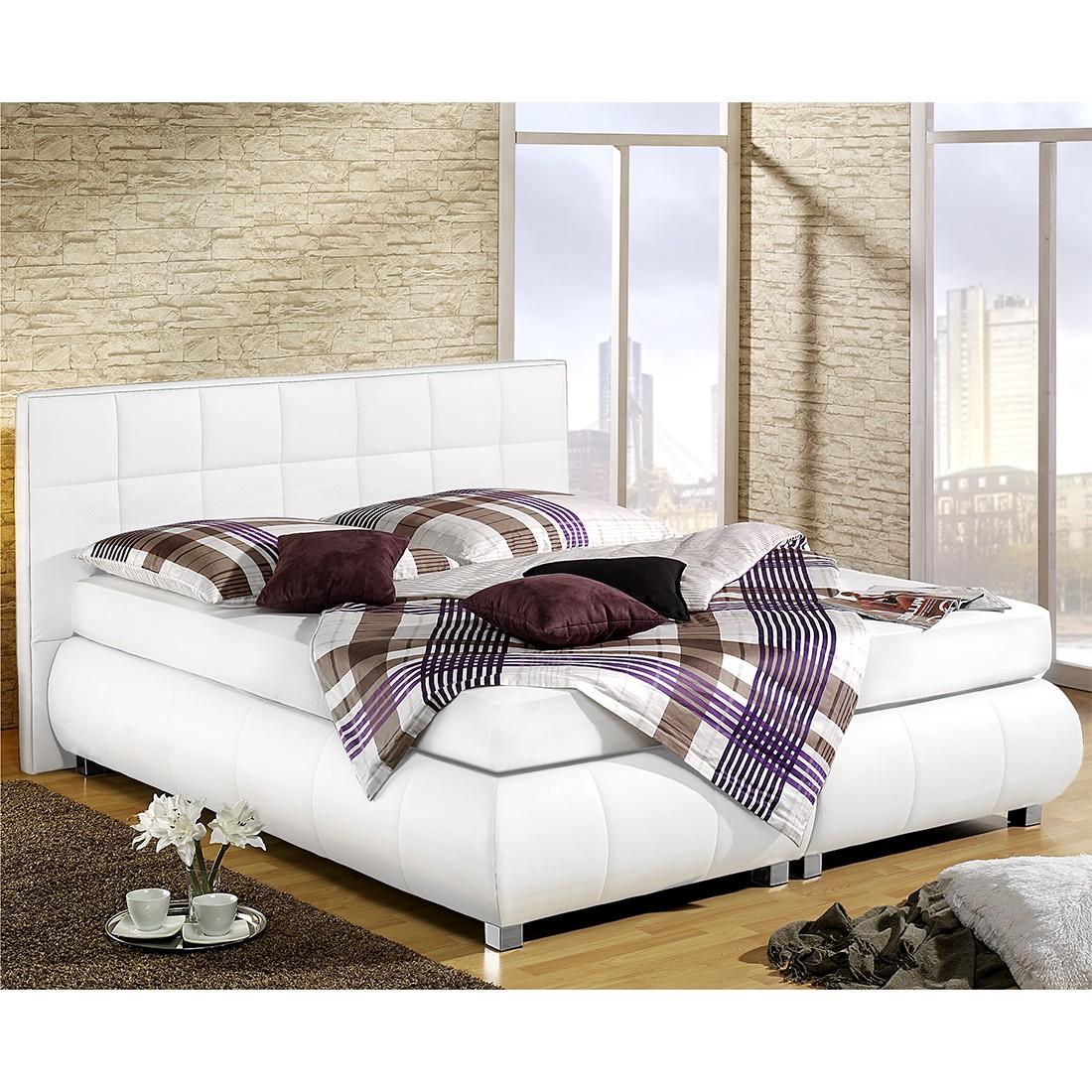 boxspringbett elay kunstleder 180 x 200cm h2 bis 80. Black Bedroom Furniture Sets. Home Design Ideas