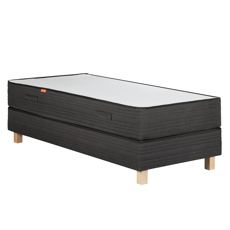 roller boxspringbett boris anthrazit weib preise und angebote ada premium. Black Bedroom Furniture Sets. Home Design Ideas