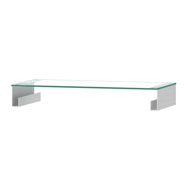 TV-Aufsatz Z-FGA - Aluminium - 80 cm, Jahnke
