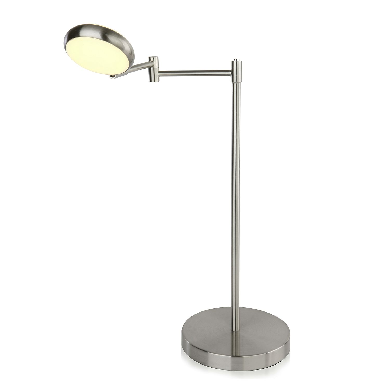EEK A+, Lampe de table LED Double Shine I - Matière synthétique / Fer - 1 ampoule, Brilliant Living