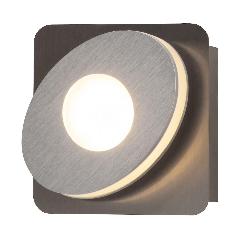 energie  A+, LED-wandlamp Crossing - kunststof/aluminium - 1, Brilliant