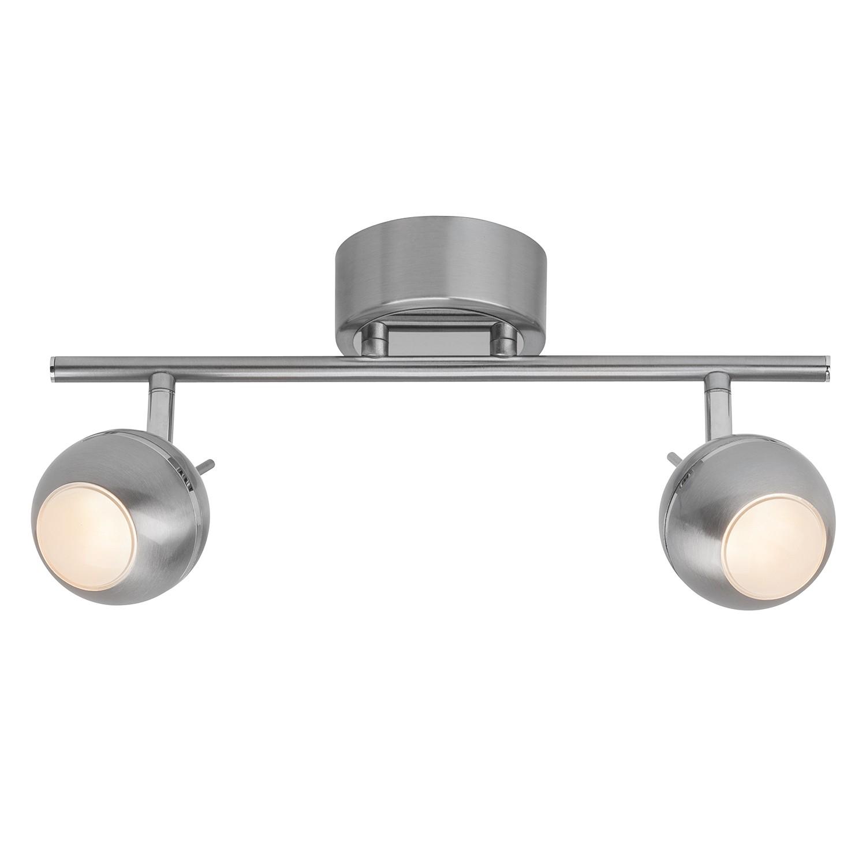 energie  A+, LED-plafondlamp Comb I - kunststof/staal - 2, Brilliant