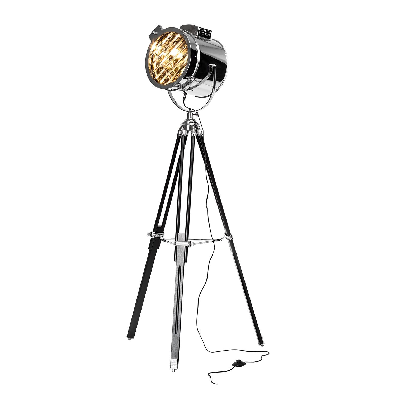 EEK A++, Lampadaire Cine - Acier - 1 ampoule, Brilliant