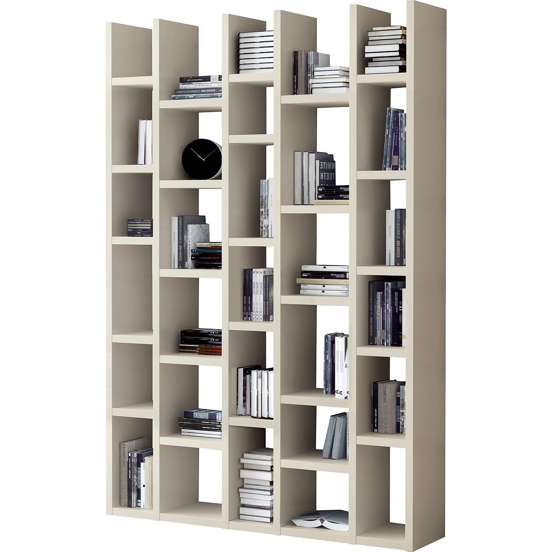 Bibliothèque Emporior I - Beige clair, Fredriks