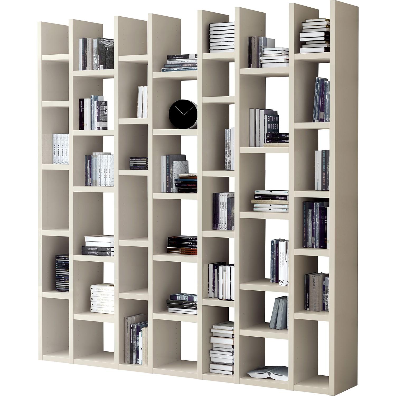 Bibliothèque Emporior II - Beige clair, Fredriks