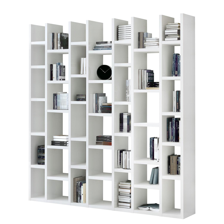 Bibliothèque Emporior II - Blanc - Blanc, Fredriks